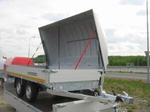 Flatbed 3.1×1.6m 2000kg + (3.3×1.8m) 2000kg
